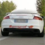 AUDI TT RS QUATTRO Coupè 2.5i Turbo FSi (340 Hp) -> Impianto Ø80mm con valvola (decat downpipe)