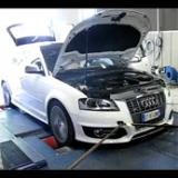 Audi S3 Supersprint Exhaust dyno