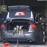 Audi A4 B7 RS4 4.2 V8 '06 - Full exhaust - Dyno