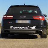 AUDI A6 S6 4G Quattro 4.0T (420 Hp) 2012 -> Supersprint Catback system