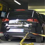 VW GOLF VII 1.4 TSI (122 Hp - 140 Hp) 2012 -> Supersprint full exhaust system - Dyno run