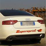 AUDI A5 Coupè 2.0 TFSI (211 Hp) -> Supersprint full exhaust system