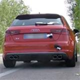"AUDI A3 S3 8V QUATTRO 2.0i TFSI (300 Hp) -> Supersprint ""Cat-back"" system"