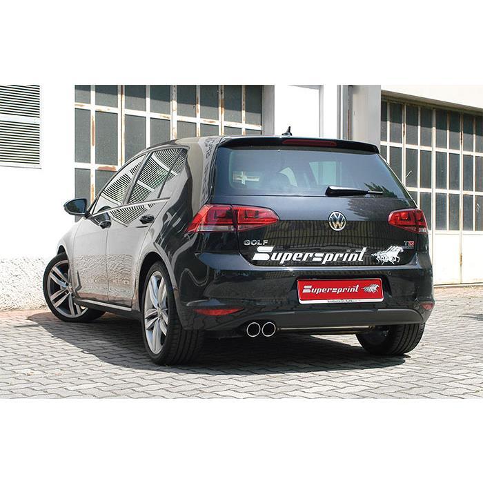 vw golf vii gt act 1 4 tsi 150 hp 2014 volkswagen impianti di scarico. Black Bedroom Furniture Sets. Home Design Ideas