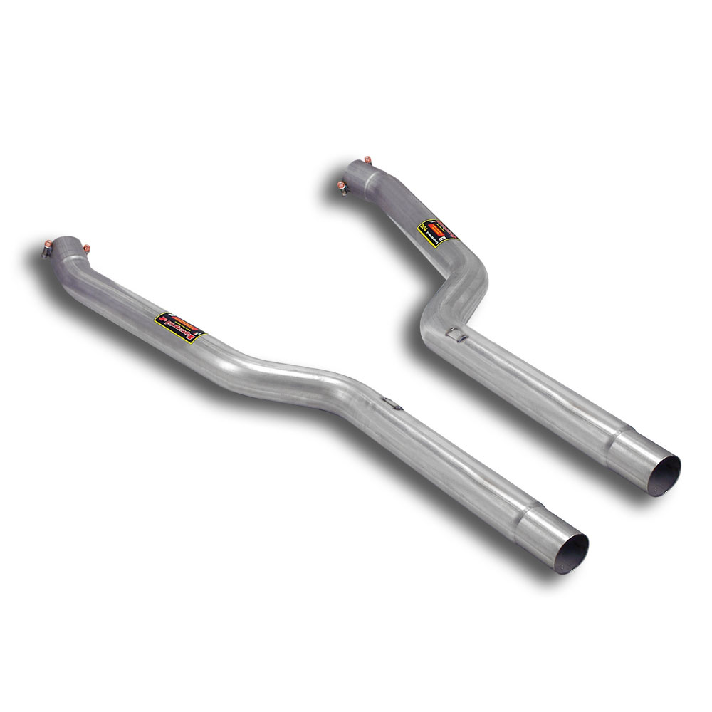 Alpina BMW - ALPINA B6 S (E63 - E64)(Coupè - Cabrio) 4.4i V8 (530 Hp) 2004 -> 2010 Front pipes Right - Left, performance exhaust systems