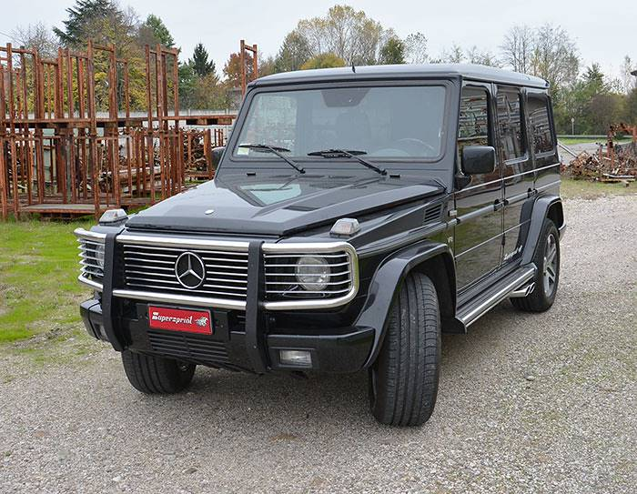 MERCEDES W463 G500 V8 (M113 3v Engine) 1998 –› 2008