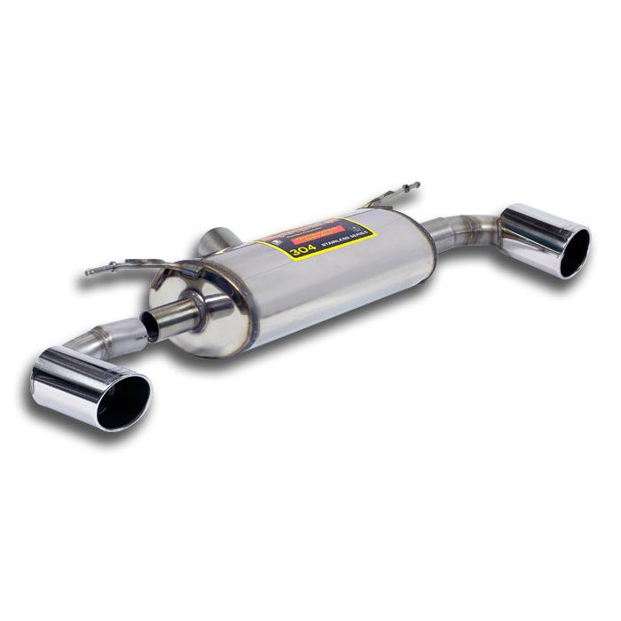 BMW - BMW F20 / F21 125i 2.0T (218 Hp) 2012 -> 2015 Rear exhaust Right O100 - Left O100, performance exhaust systems