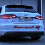 "AUDI A3 S3 8V / 8VA QUATTRO 2.0i TFSI '13 -> Sistema ""Cat-back"" Supersprint"