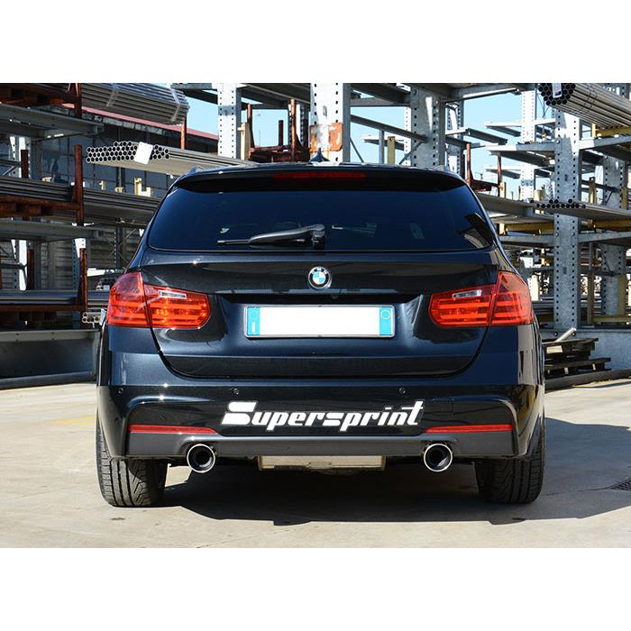 Rear Exhaust Right O100 Left O100 For Bmw F30 320i Rear Exhaust