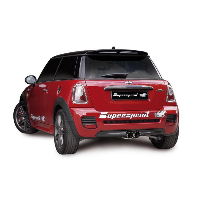 Aka Performance Sport Exhaust For Mini R56 Cooper S Jcw