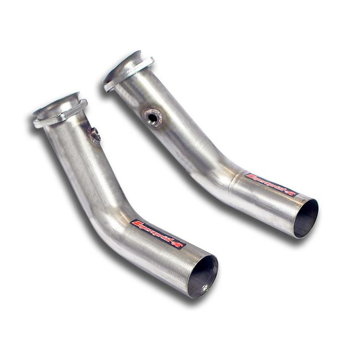 Mercedes AMG - MERCEDES C218 CLS 63 AMG V8 (M157 5.5i Bi-Turbo) (525 Hp-557 Hp) 2012 -> Connecting downpipe kit Right - Left, performance exhaust systems
