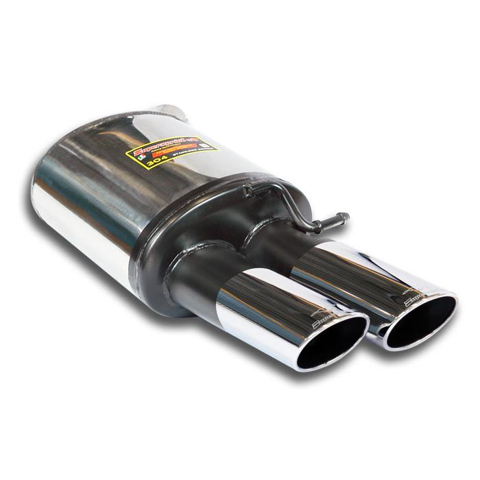 Audi - AUDI A8 QUATTRO 3.0 TFSI V6 (310 Hp-333 Hp) 2012 -> (Cat.Back) Rear exhaust Left 100x75, performance exhaust systems