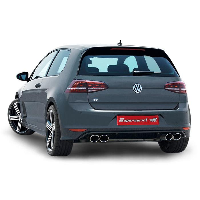 Performance Sport Exhaust For VW GOLF VII R