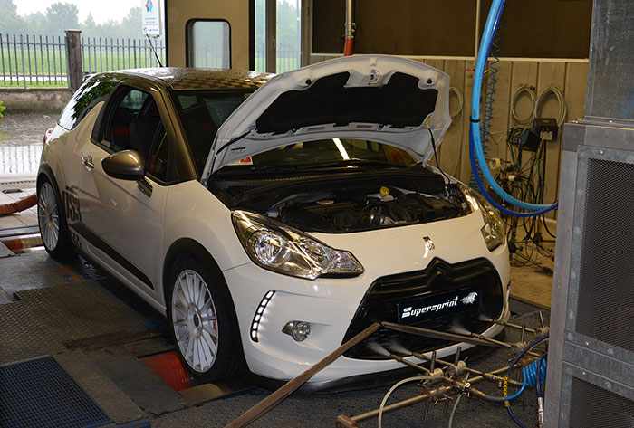 CITROEN DS3 RACING THP 1.6i 16v (203 Hp) 2011 –› Prova al banco