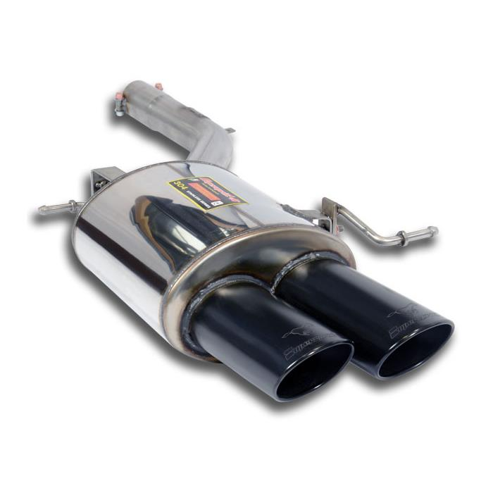 BMW - BMW F12 / F13 640d xDrive 2012 -> Rear exhaust Left 100x75 BLACK, performance exhaust systems