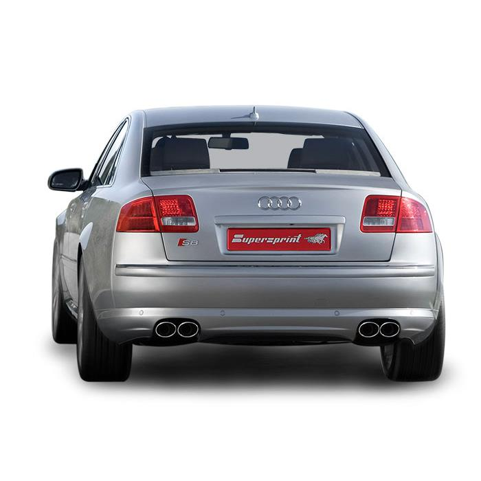 Performance Sport Exhaust For Audi S8 D3, AUDI A8 S8