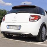 CITROEN DS3 RACING 1.6i 16v (203 Hp) 2011 -> Impianto di scarico completo Supersprint (2)