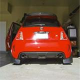 "500 ABARTH 1.4T Multiair ""Mod. USA"" (160 Hp) 2011 -> Impianto di scarico completo Supersprint (4)"