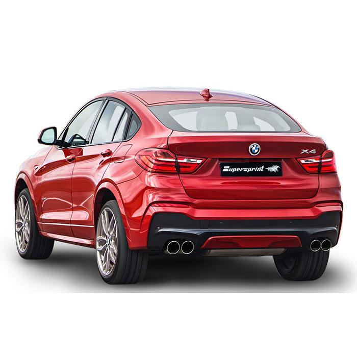 BMW F26 X4 30d xDrive (258 Hp) 2014 ->, BMW, exhaust systems