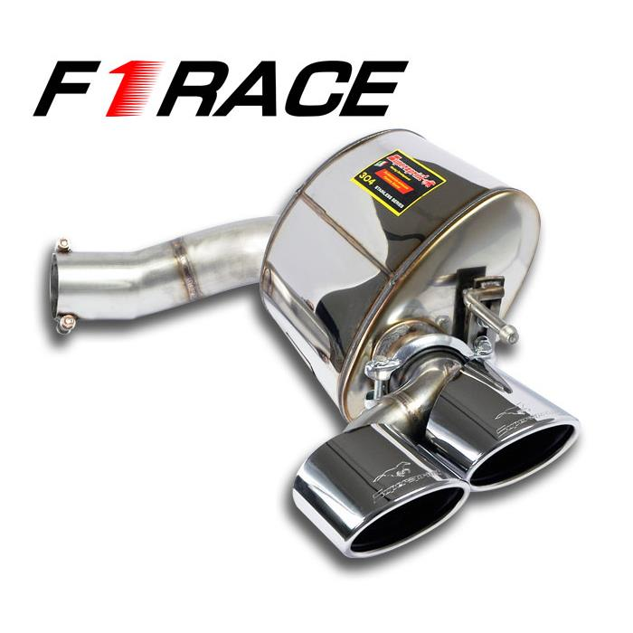 "Mercedes - MERCEDES R230 SL 600 Bi-Turbo V12  '02 ->'07 Rear exhaust Right ""F1 Race"" 120x80, performance exhaust systems"