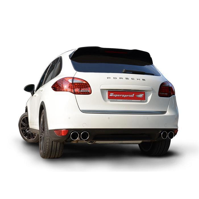 Performance Sport Exhaust For Porsche 958 Cayenne Gts