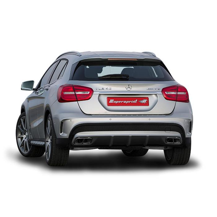 Mercedes AMG - MERCEDES X156 GLA 45 AMG 4-matic (360 PS) 2014 ->
