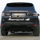 RANGE ROVER SPORT 5.0i V8 Supercharged (510 Hp) 2013 -> Impianto di scarico completo Supersprint