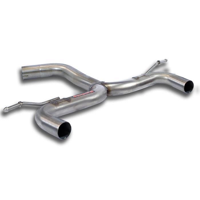 "Volkswagen - VW GOLF VI 2.0 GTD (170 Hp) 2008 -> 2012 Rear pipe ""Y-Pipe"" Right - Left, performance exhaust systems"