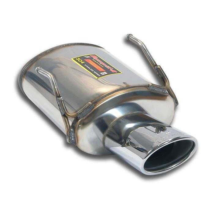 Lancia - LANCIA Y 1.2i (69 Hp) 2011 -> Rear exhaust 120x80 STEEL 409, performance exhaust systems