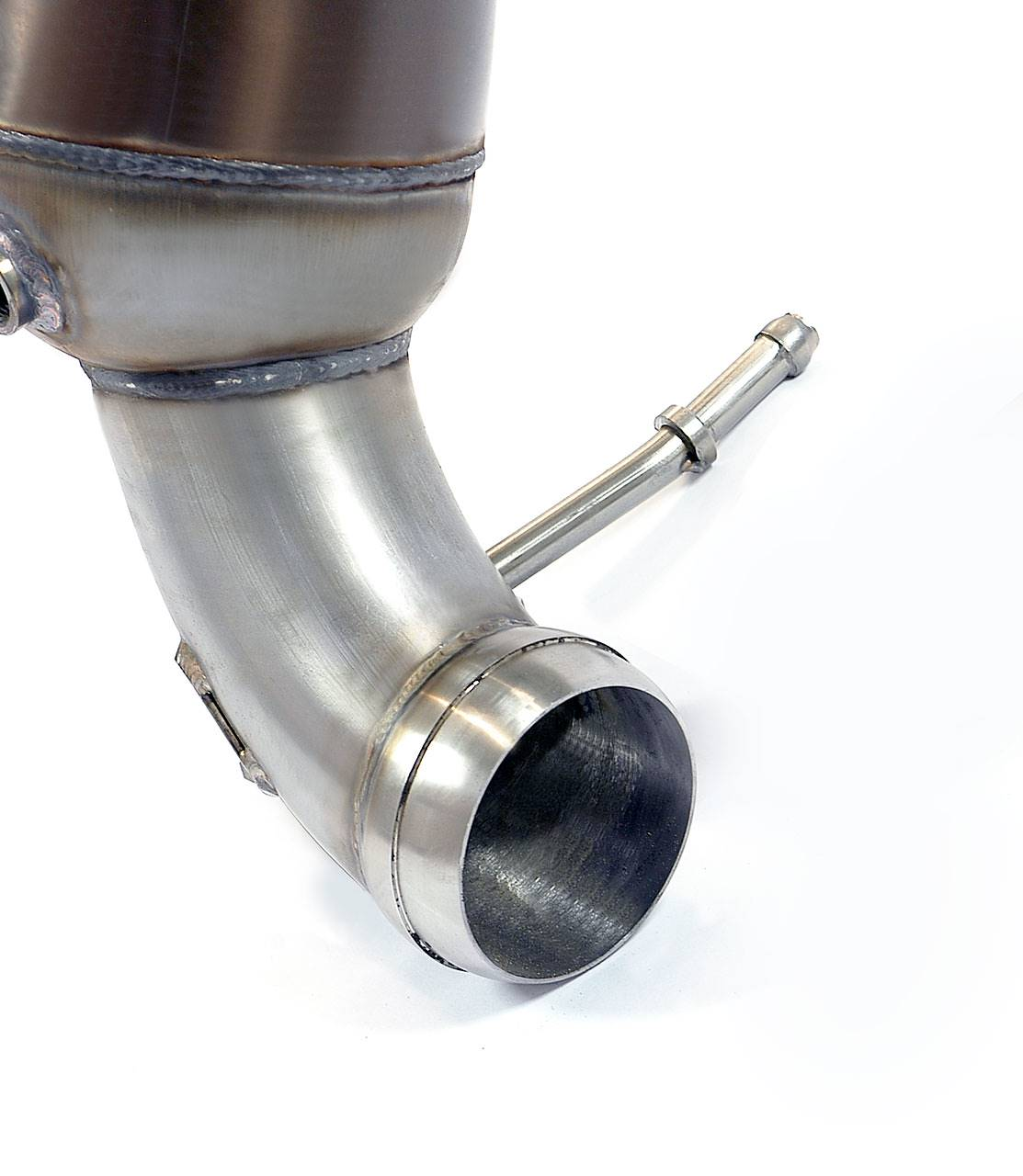 360 Sprint Car Engine Hp: Turbo Downpipe + Metallic Catalytic Converter For Mercedes
