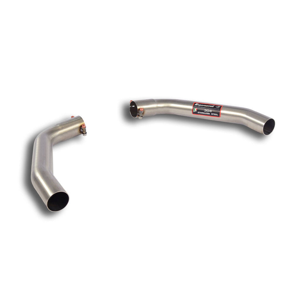 Mercedes AMG - MERCEDES C117 CLA 45 AMG (381 Hp) 2015 ->  Exit pipes kit Right - Left for OEM endpipe, performance exhaust systems