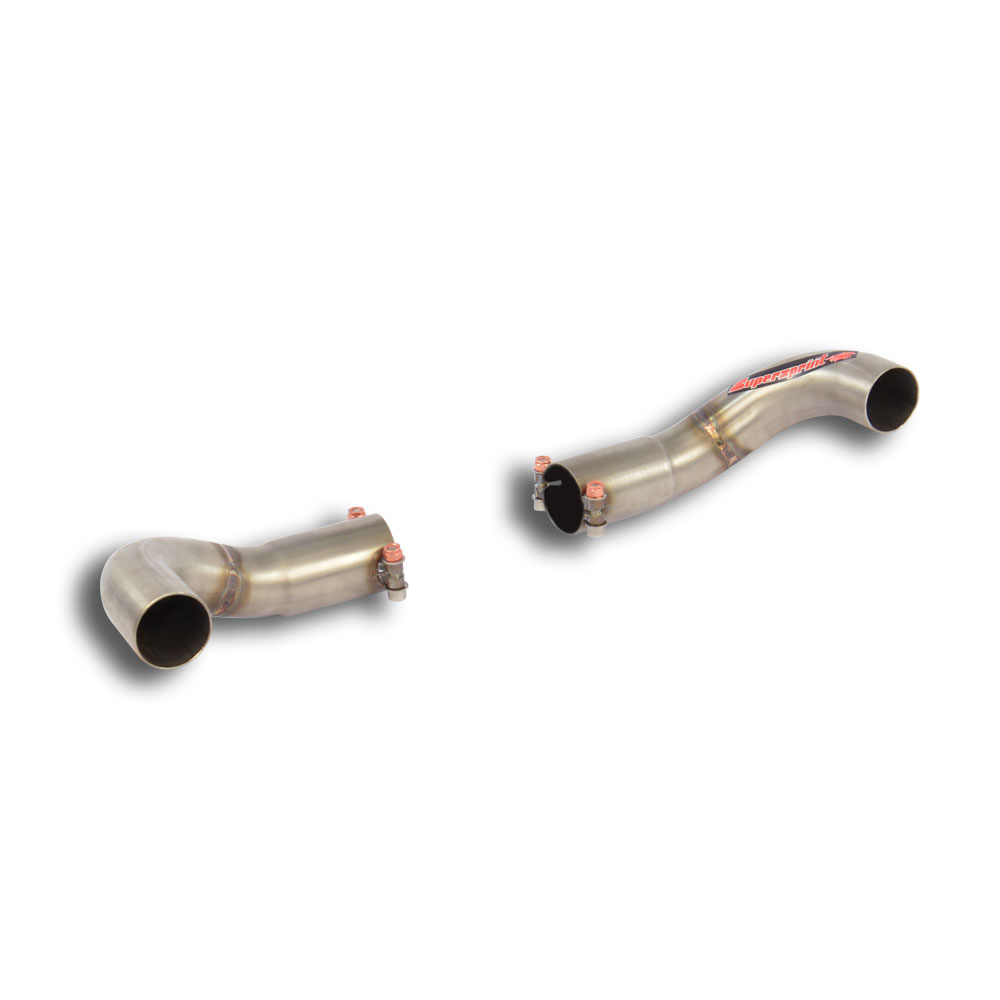 Mercedes - MERCEDES W176 A 250 (211 Hp) 2013 -> Exit pipes kit Right - Left, performance exhaust systems