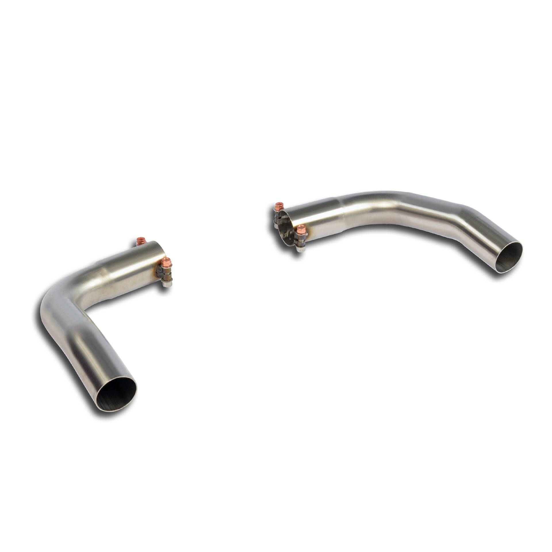 Mercedes - MERCEDES X156 GLA 220 CDI 4-Matic (2143cc diesel, 177 Hp) 2014 -> Exit pipes kit Right - Left, performance exhaust systems