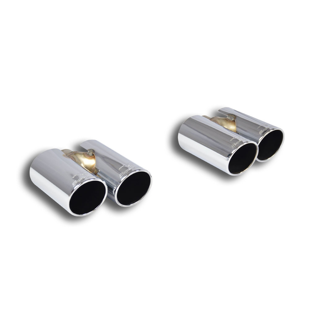 Audi - AUDI A3 8P 1.6 FSI (115 Hp) '03 ->'07 Endpipe kit 4 exit OO80 Right+ OO80 Left, performance exhaust systems