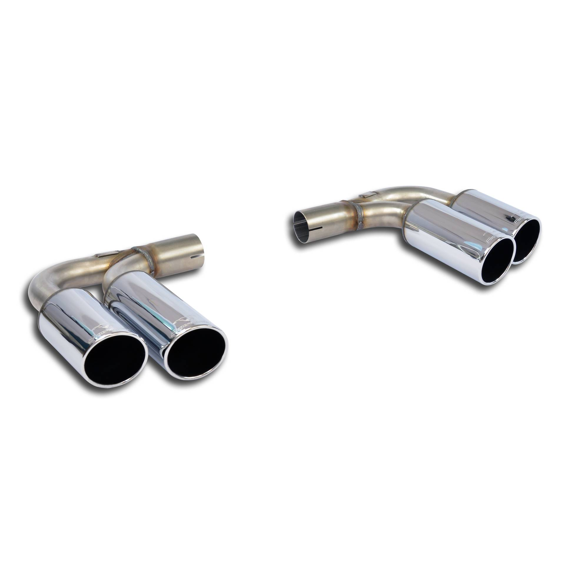 Audi - AUDI TT Mk2 Coupè/Roadster 2.0 TFSi (200Hp/211Hp)'07->'14 (Racing Ø70mm) Endpipe kit Right + Left 4 exit OO80, performance exhaust systems