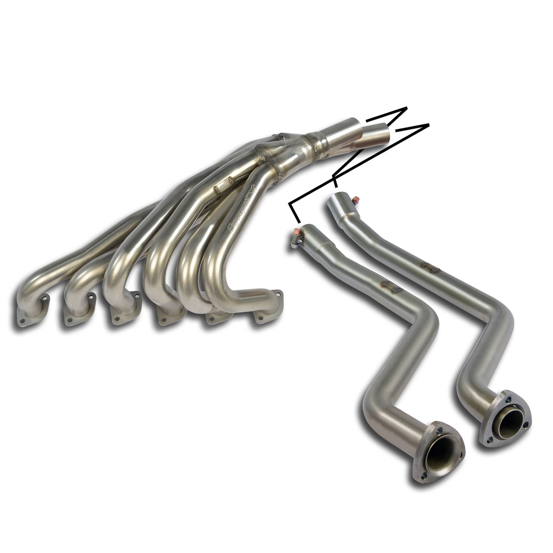 Alpina BMW - ALPINA C1 (E21) 2.3i ' 80 -> ' 83  Manifold 100% Stainless steel, performance exhaust systems