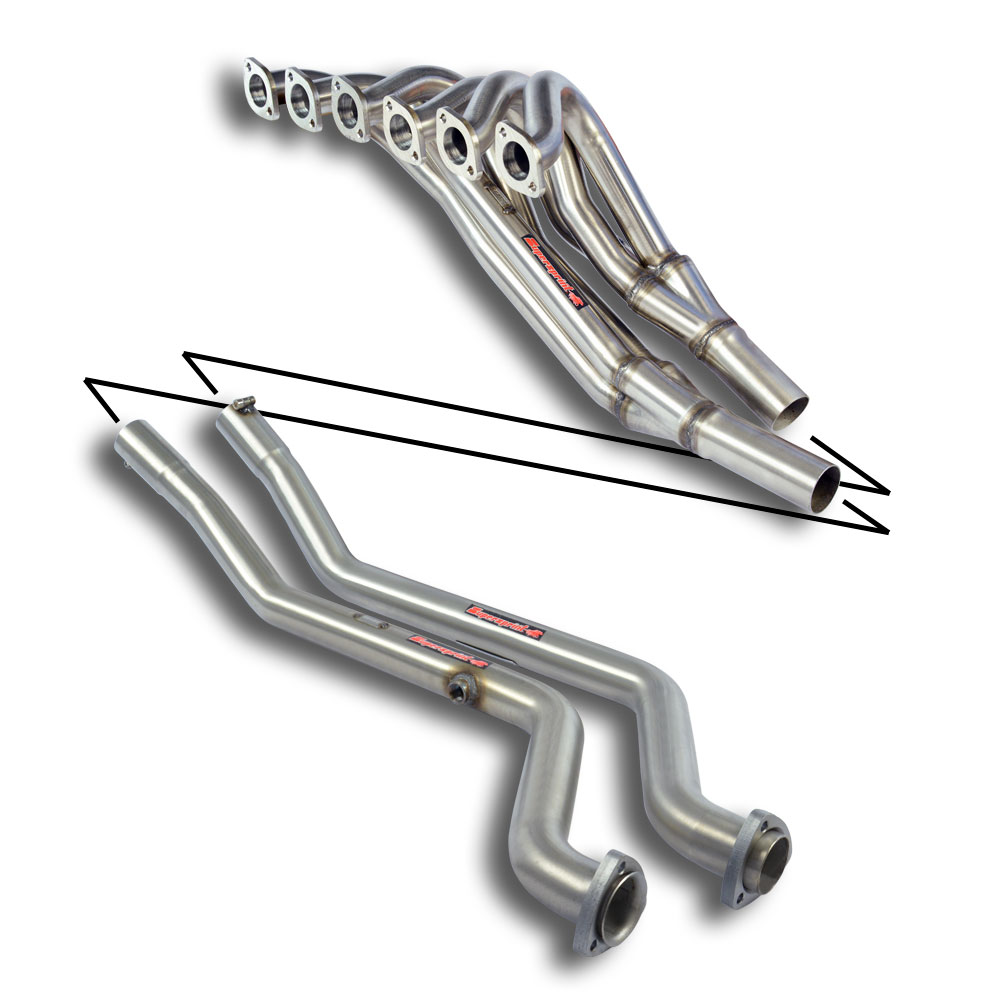 BMW Classic - BMW E21 323i '78 ->'82 Manifold 100% Stainless steel, performance exhaust systems