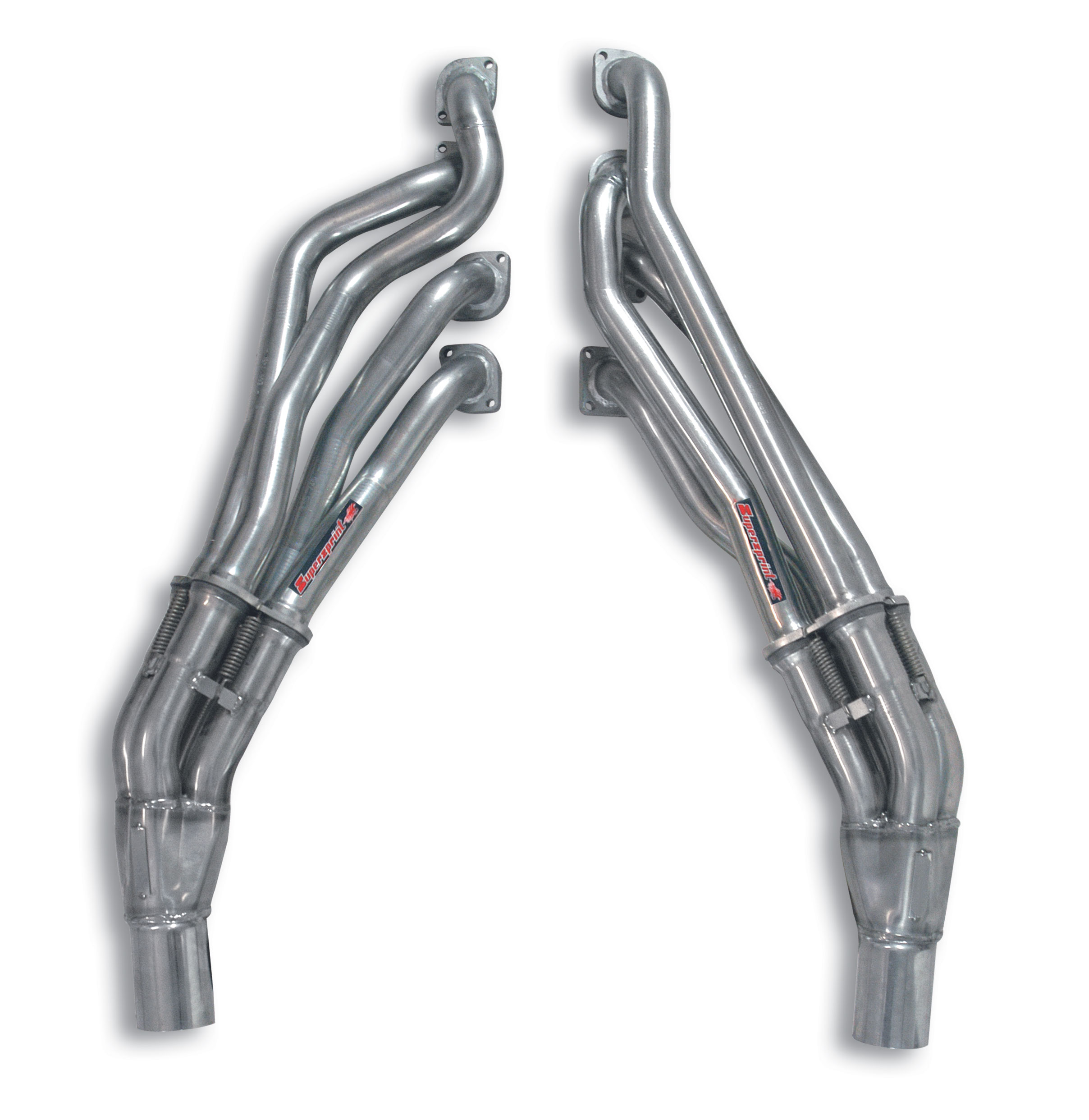 Alpina BMW - ALPINA B6 S (E63 - E64)(Coupè - Cabrio) 4.4i V8 (530 Hp) 2004 -> 2010 Manifold Right - Left<br>(Left Hand Drive)<br>SUPERSPRINT DESIGN PATENT, performance exhaust systems
