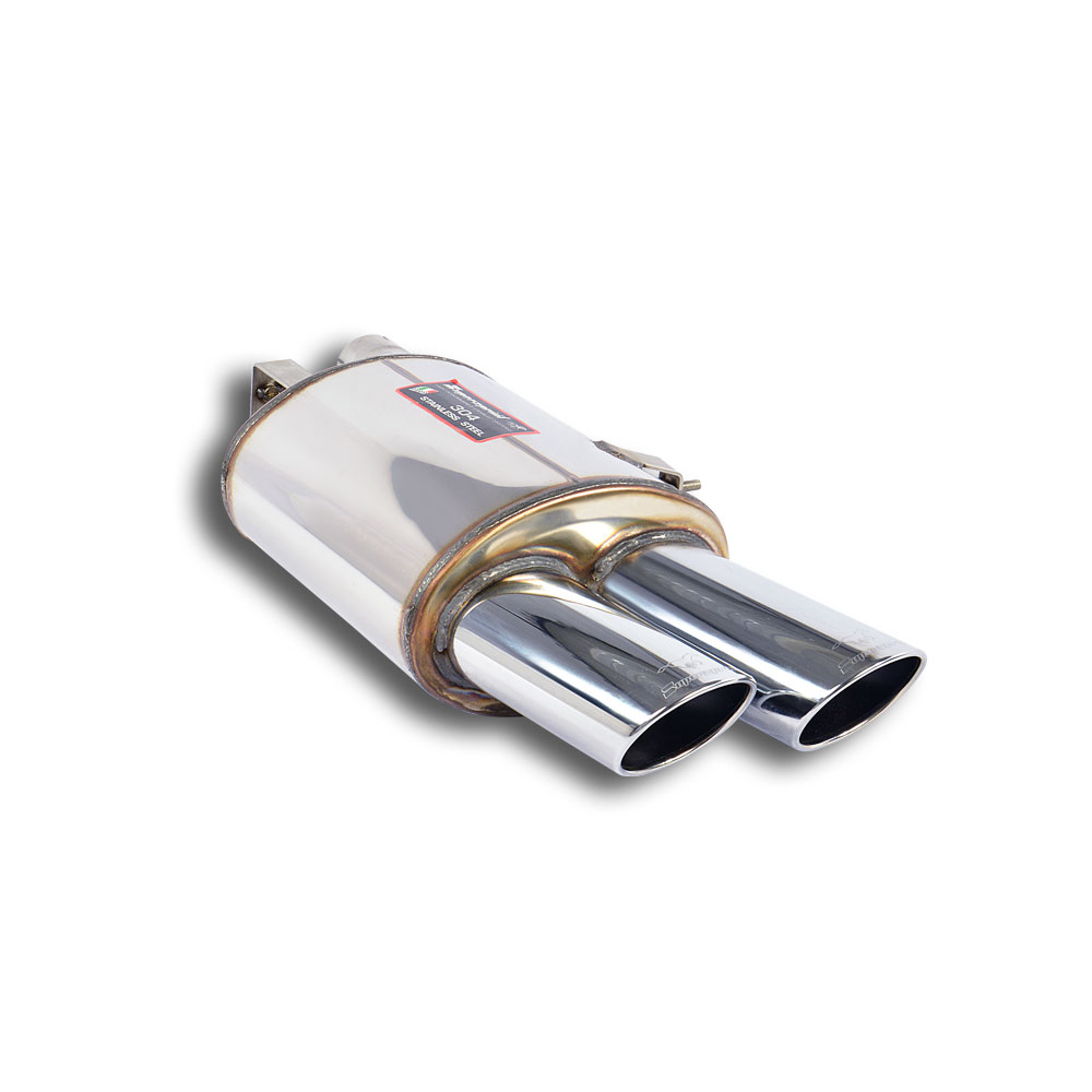 BMW - BMW E63 / E64 650i V8 '08 -> Rear exhaust Right 100x75, performance exhaust systems