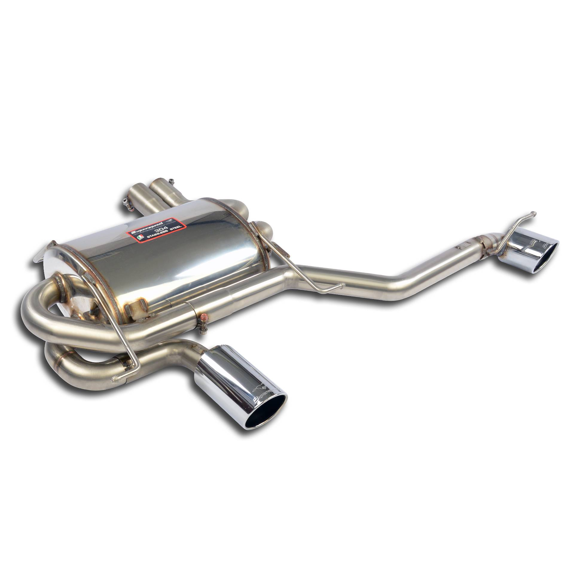 BMW - BMW E90 Sedan 328i / 328xi (USA version - N51 / N52N) 2006 -> 2008 Rear exhaust kit Right O90 - Left O90, performance exhaust systems