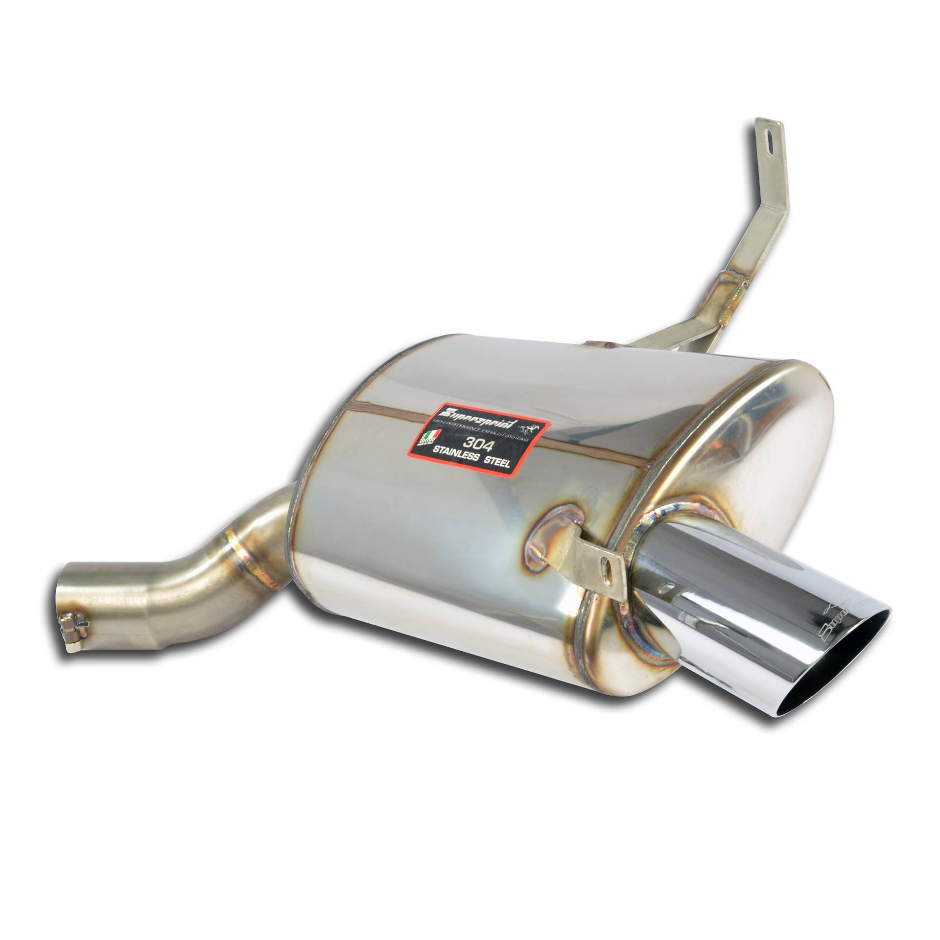 Rear Exhaust Right O 90 For Bmw Z8 5 0i V8 99 Gt 03