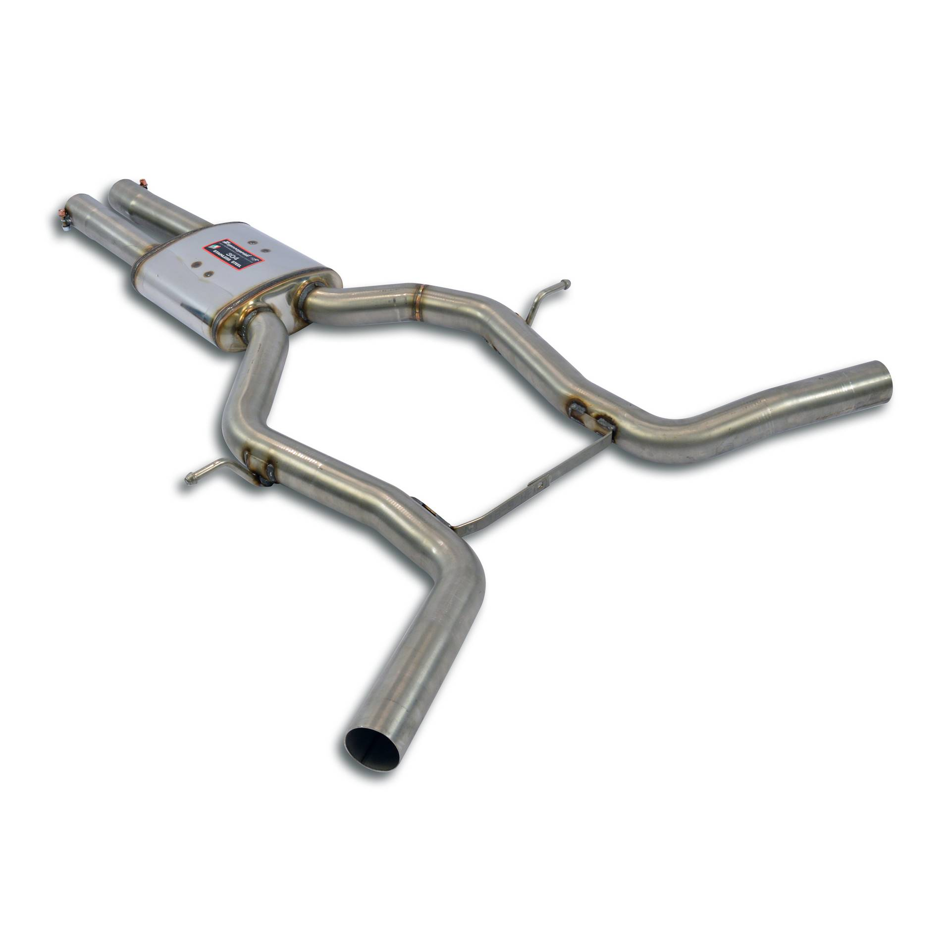 Mercedes - MERCEDES C219 CLS 280 V6 (M272  3.0L - 231 Hp) 2008 -> 2009 Centre exhaust Right - Left, performance exhaust systems