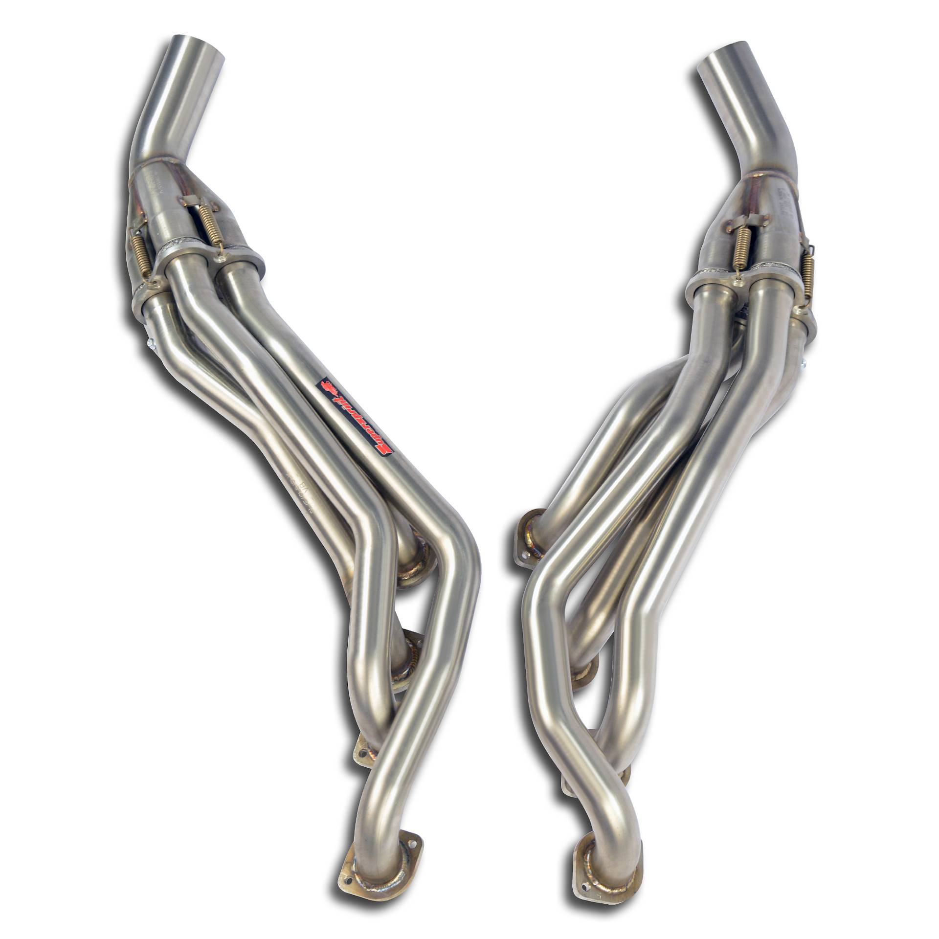 Mercedes AMG - MERCEDES A209 CLK DTM AMG 5.5l Cabrio Kompressor (582 Hp) 2006 Manifold Right - Left<br>(Left Hand Drive)<br>SUPERSPRINT DESIGN PATENT, performance exhaust systems