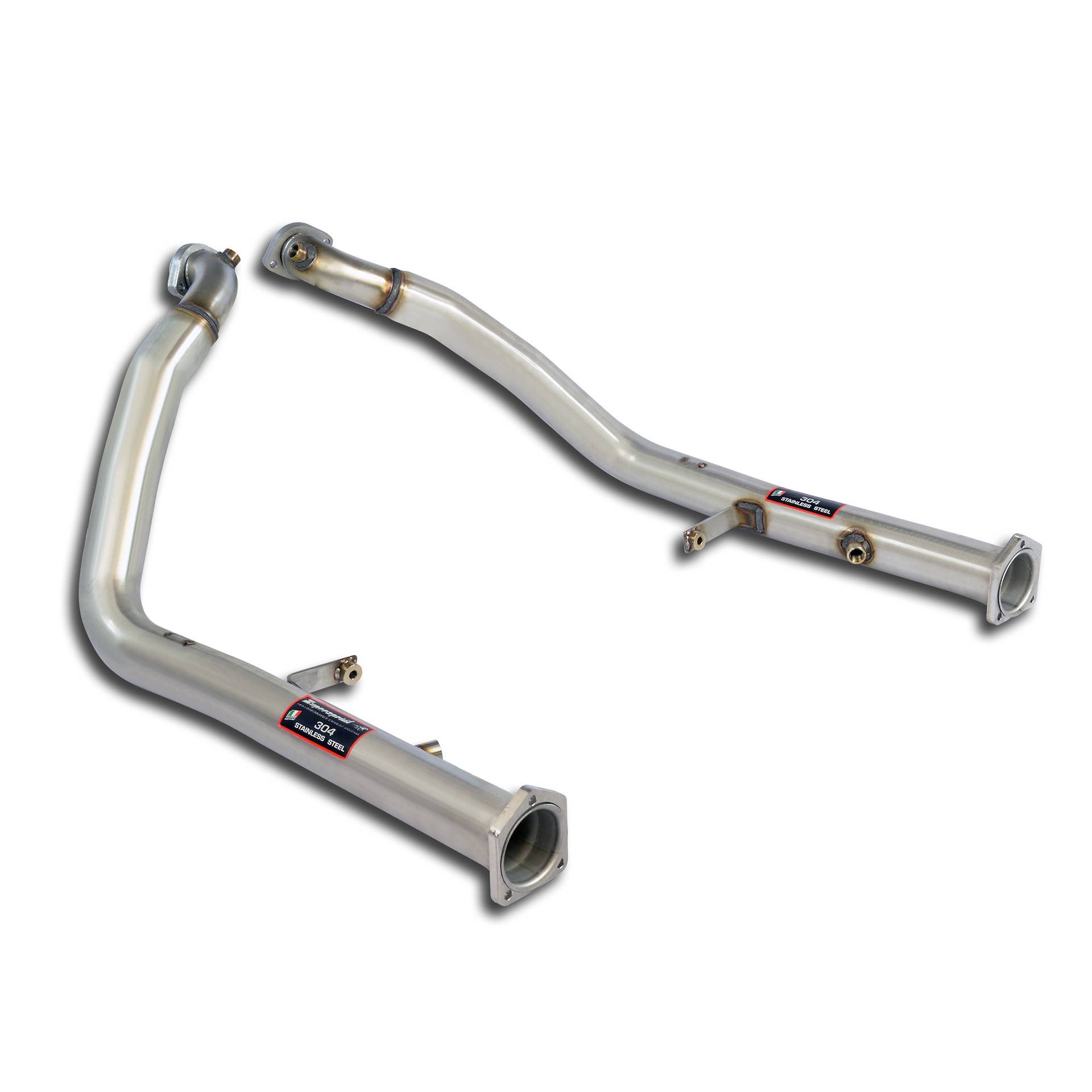Mercedes AMG - MERCEDES W463 (4-door) G55 AMG V8 (354 Hp) 2002 -> 2004 Downpipe kit Right + Left<br>(Replaces catalytic converter), performance exhaust systems