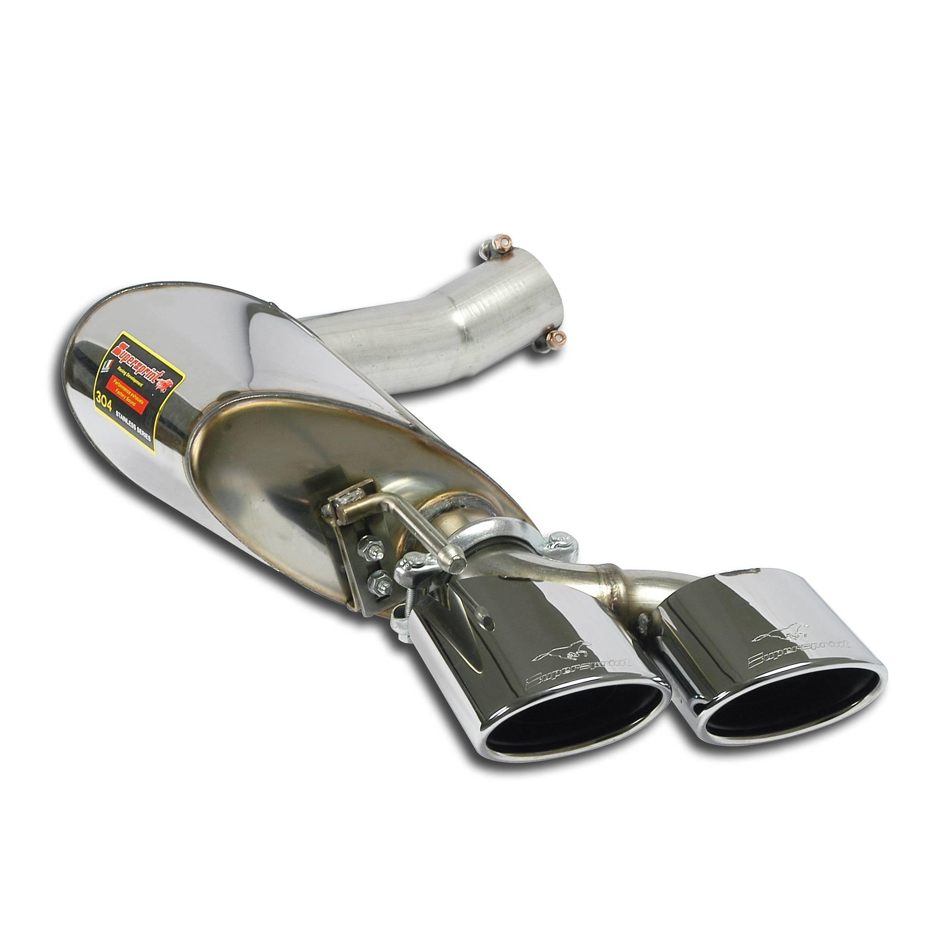 Supersprint Udstødninger til Mercedes W211 E 63 AMG V8