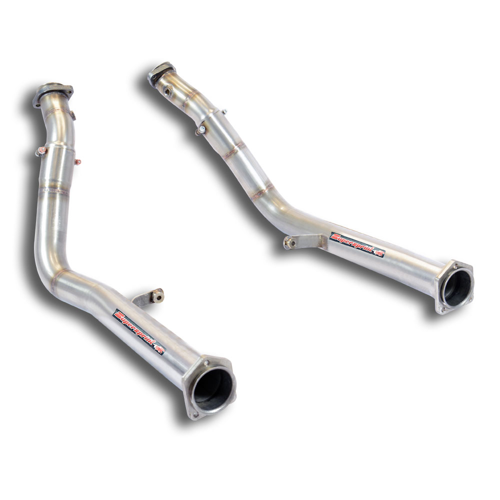 Mercedes AMG - MERCEDES W463 G63 AMG V8 5.5 Bi-Turbo 2012-> Downpipe kit Right - Left<br>(Replaces calalytic converter), performance exhaust systems