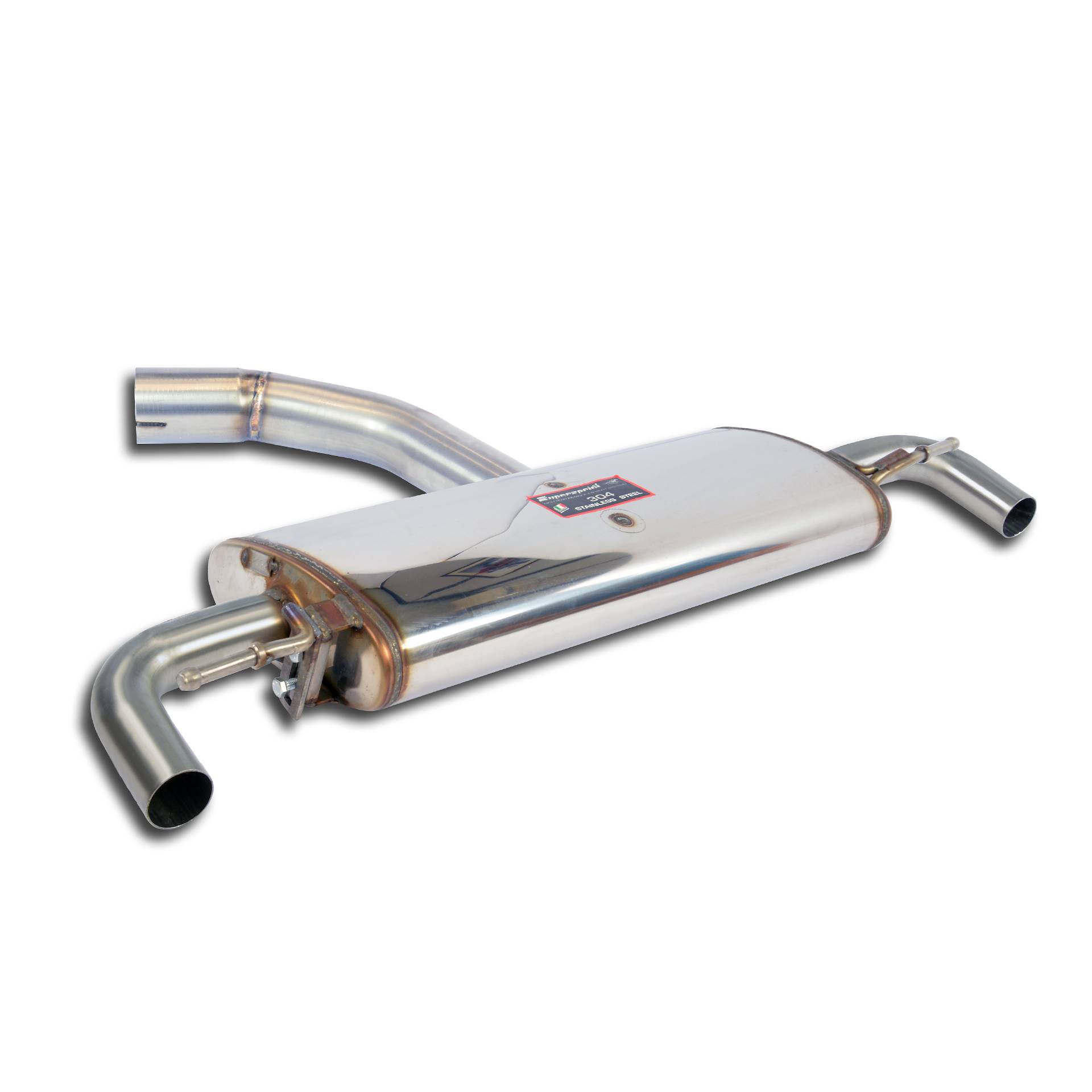 Audi - AUDI A3 8P 1.6 FSI (115 Hp) '03 ->'07 Rear exhaust , performance exhaust systems