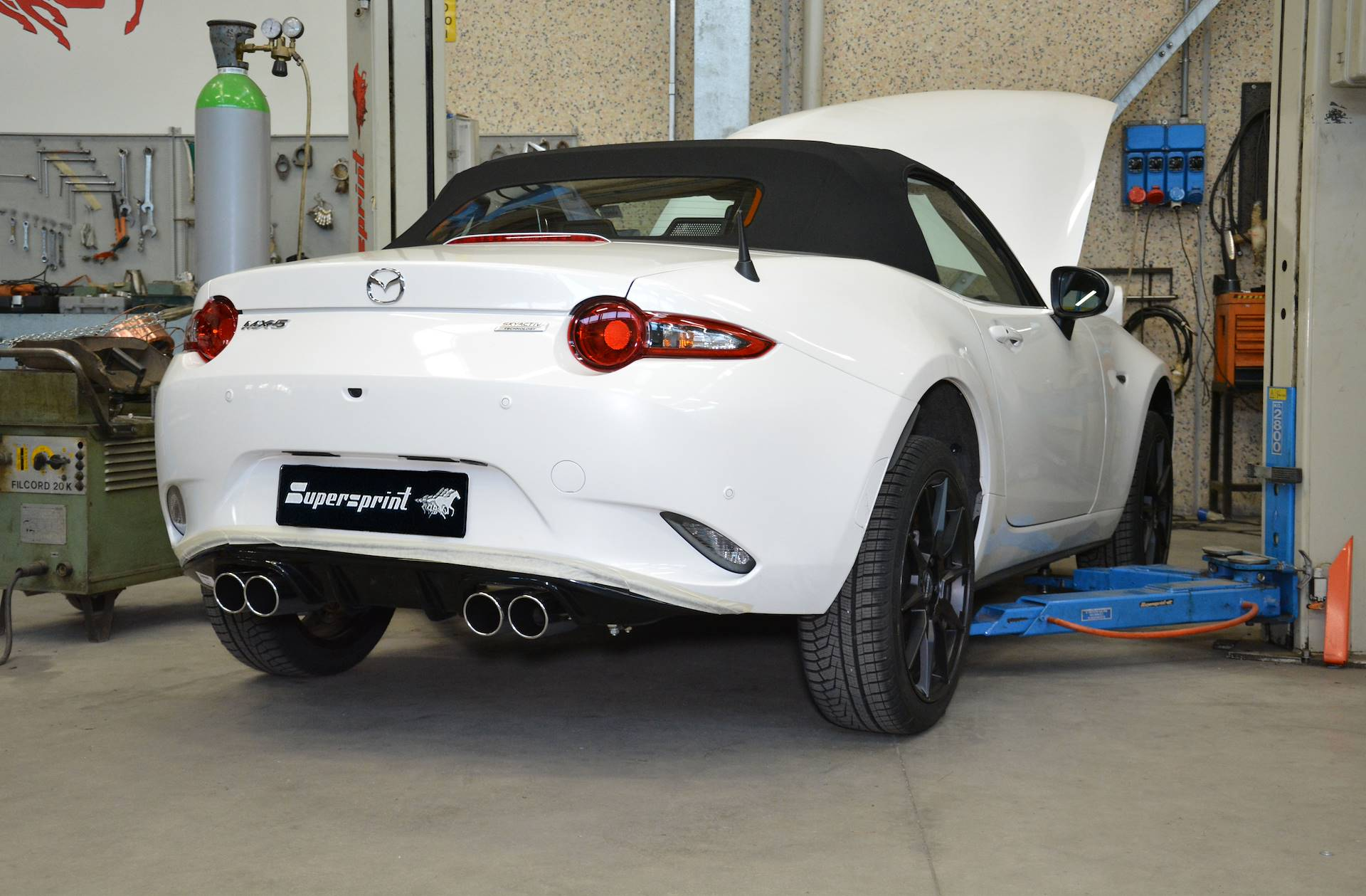 "Mazda - MAZDA MX-5 2.0i ""30th Anniversary"" (184 Hp) 2019 -> Sport pack - Quad System, performance exhaust systems"