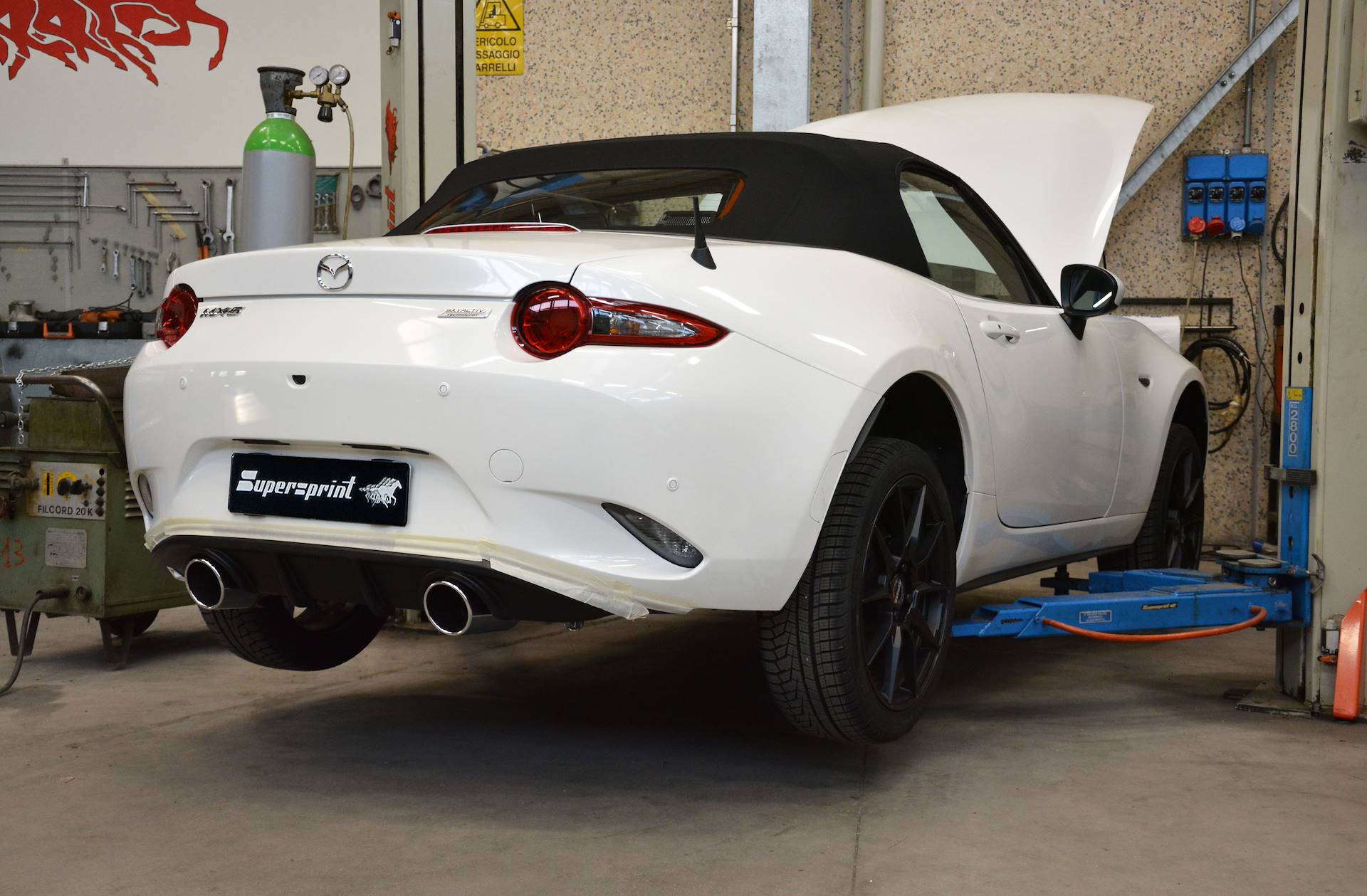 "Mazda - MAZDA MX-5 2.0i ""30th Anniversary"" (184 Hp) 2019 -> Sport pack - Dual System, performance exhaust systems"