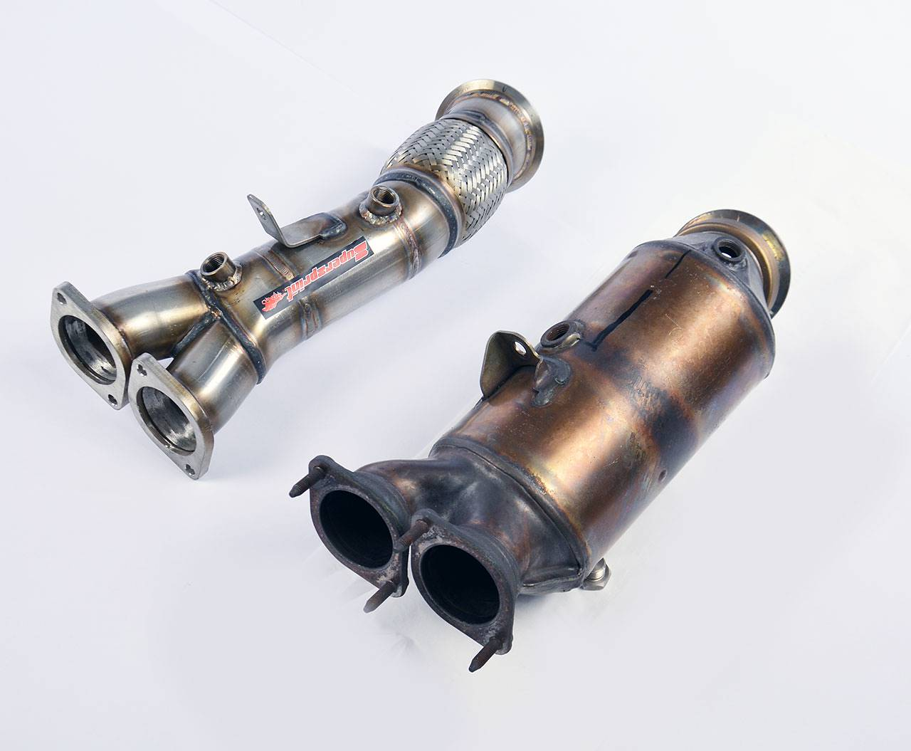 turbo downpipe kit replace catalytic converter for n55. Black Bedroom Furniture Sets. Home Design Ideas